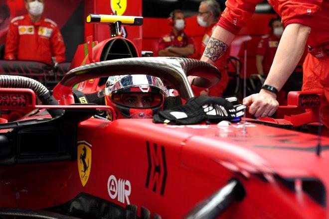 2021年F1第4戦スペインGP カルロス・サインツJr.(フェラーリ)