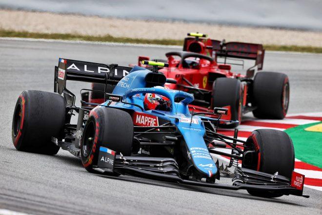 2021年F1第4戦スペインGP エステバン・オコン(アルピーヌ)