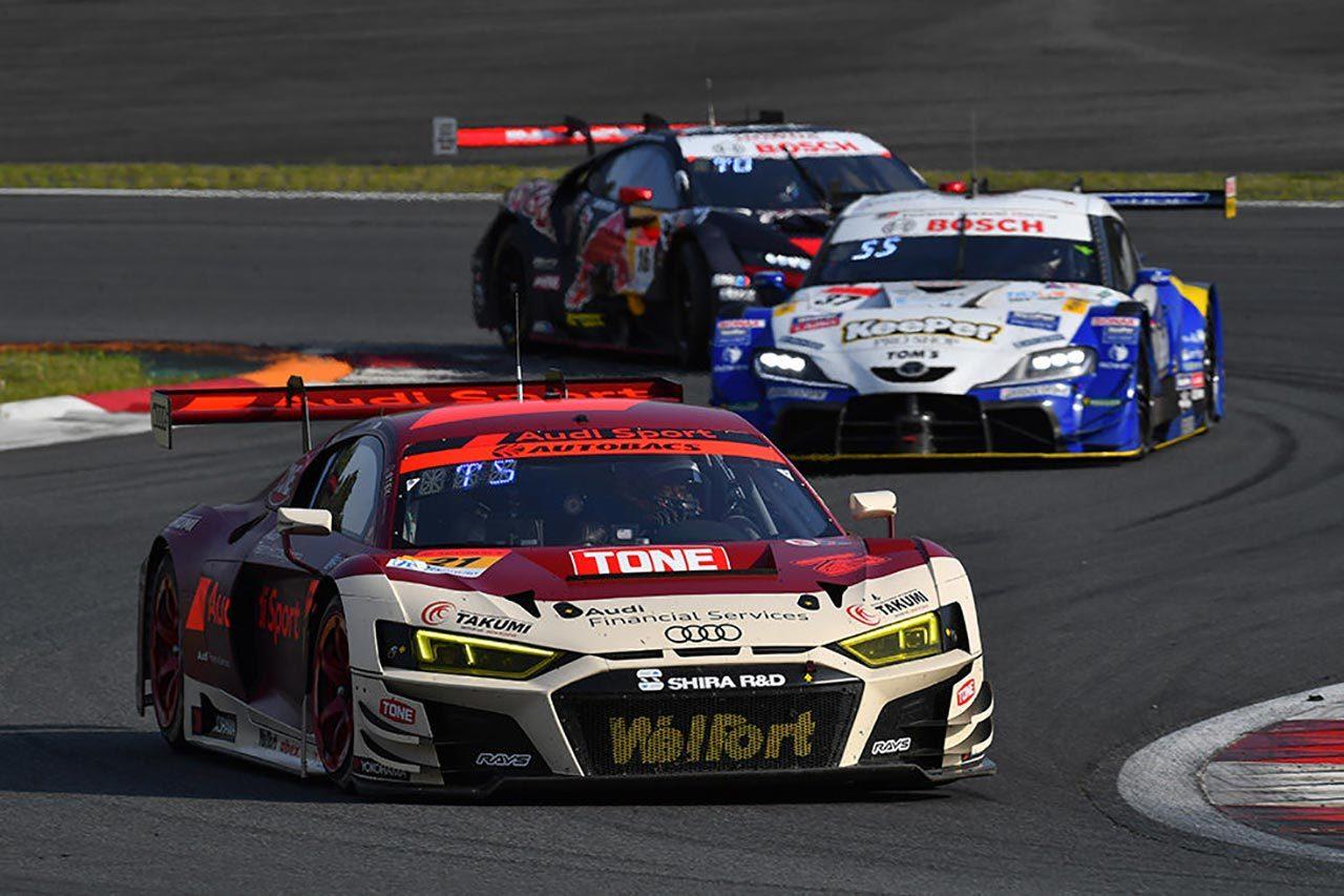 Audi Team Hitotsuyama 2021スーパーGT第2戦富士 レースレポート