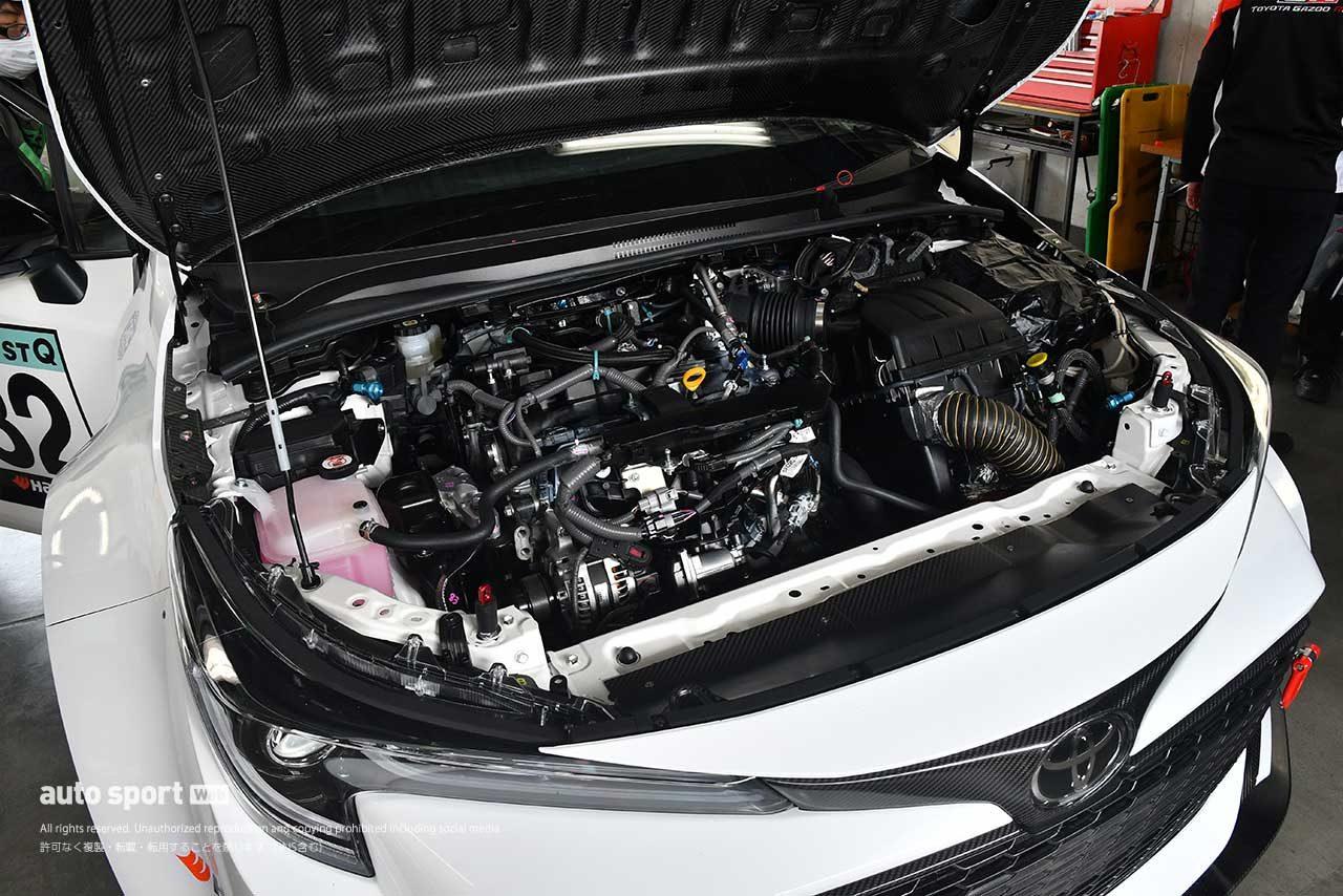 水素エンジン搭載のカローラ・スポーツ