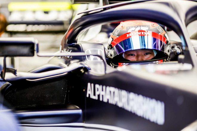 2021年F1第4戦スペインGP 角田裕毅(アルファタウリ・ホンダ)