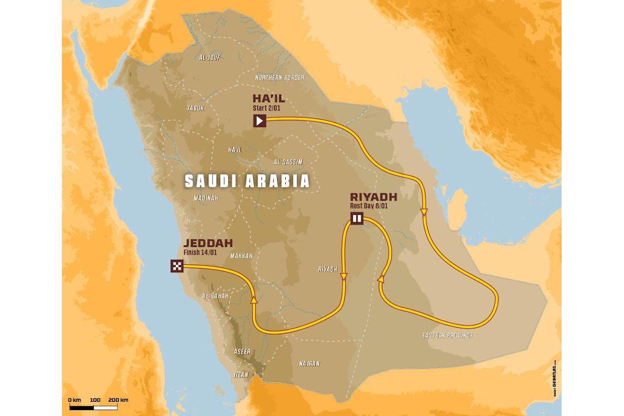 ダカールラリー、2022年のルート発表。3度目のサウジアラビア大会は1月2~14日開催