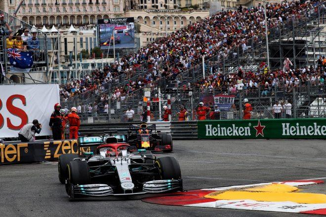 2019年F1モナコGP ルイス・ハミルトン(メルセデス)