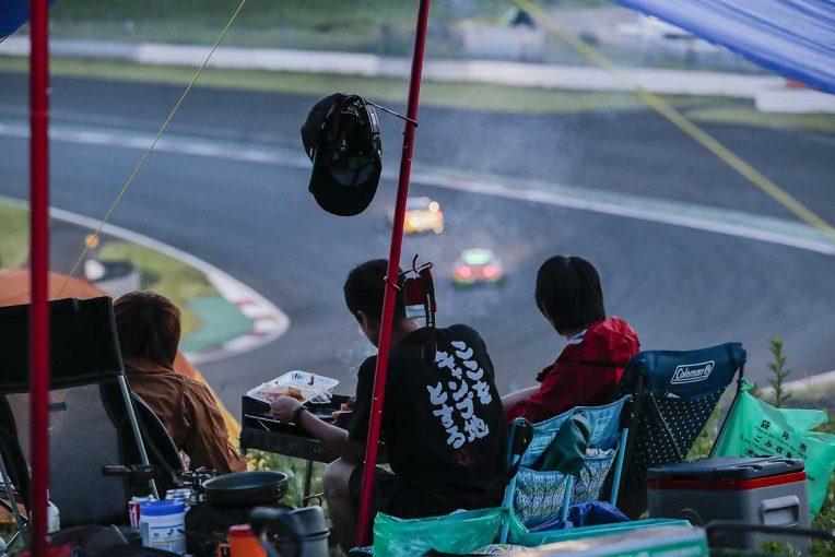 国内レース他   富士SUPER TEC 24時間レースはキャンプで! 海外24時間レースでは定番観戦スタイル