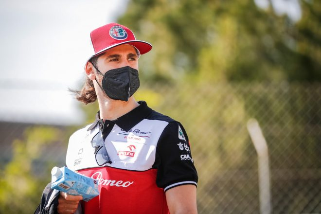 2021年F1第4戦スペインGP アントニオ・ジョビナッツィ(アルファロメオ)