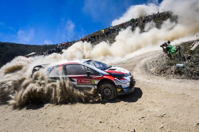 ラリー/WRC   新エンジン投入のトヨタ、今季初のグラベルラリーに向け「準備はできている」/WRCポルトガル