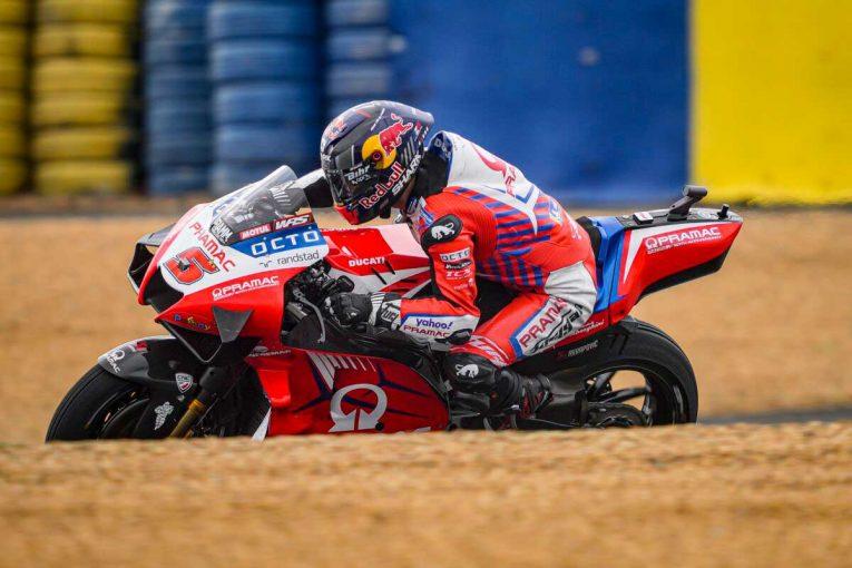 MotoGP | MotoGP第5戦フランスGP:転倒が相次いだ初日、総合トップはヨハン・ザルコ。マルク・マルケスは総合8番手