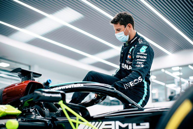 F1   カレンダー変更がグロージャンのメルセデスF1デモランに影響。フランスGP決勝での走行は中止、テストデーのみに