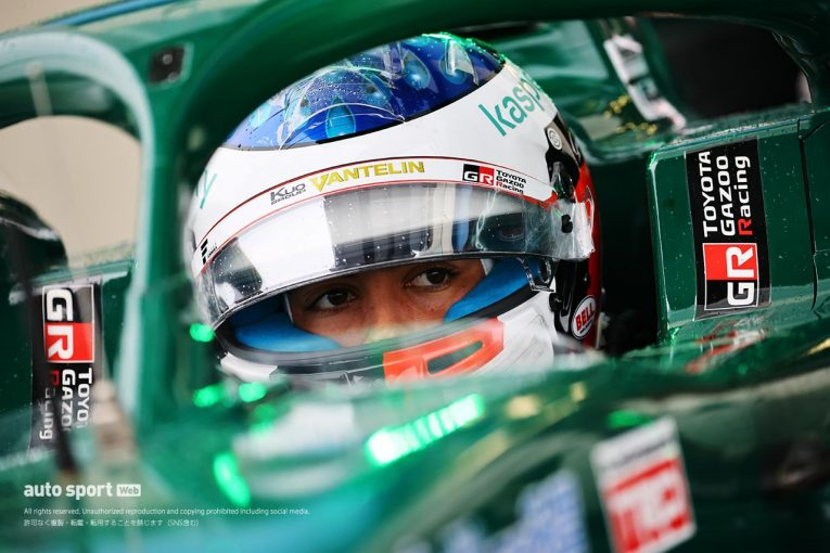 スーパーフォーミュラ | ジュリアーノ・アレジが参戦2戦目で初ポール獲得の衝撃。雨の中0.085秒差でチームメイトを下す【第3戦オートポリス予選】