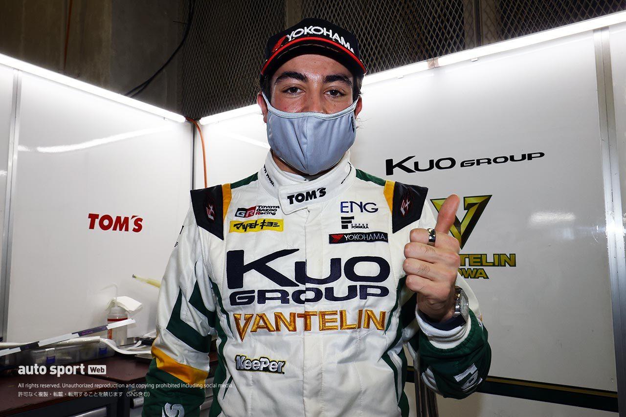 初ポールポジションを獲得したジュリアーノ・アレジ(Kuo VANTELIN TEAM TOM'S)