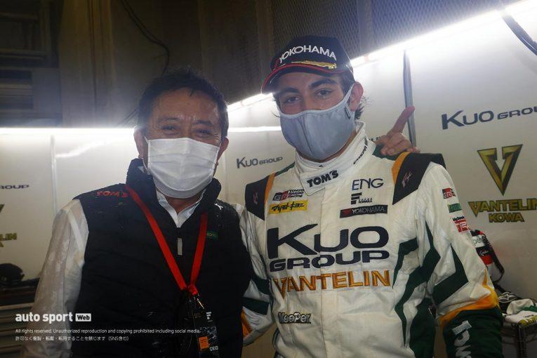 スーパーフォーミュラ | 初PP獲得のジュリアーノ・アレジ「日本に来て、良いチームで走れて本当に幸せ」【第3戦予選後会見】