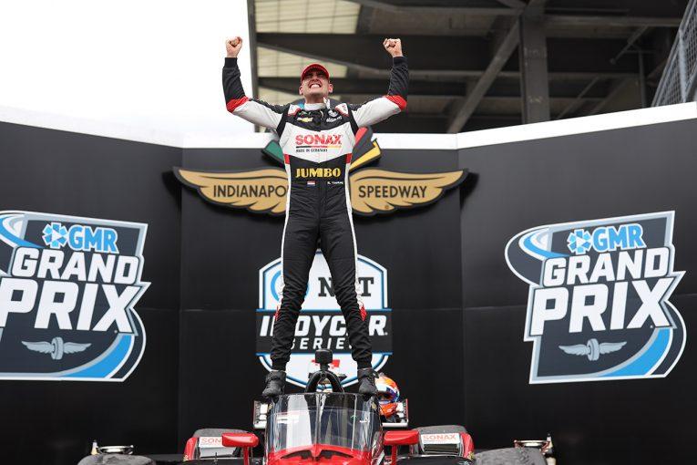 海外レース他   今季3人目のニュースター誕生。ヴィーケイがインディカー第5戦で初優勝。琢磨は運も味方せず
