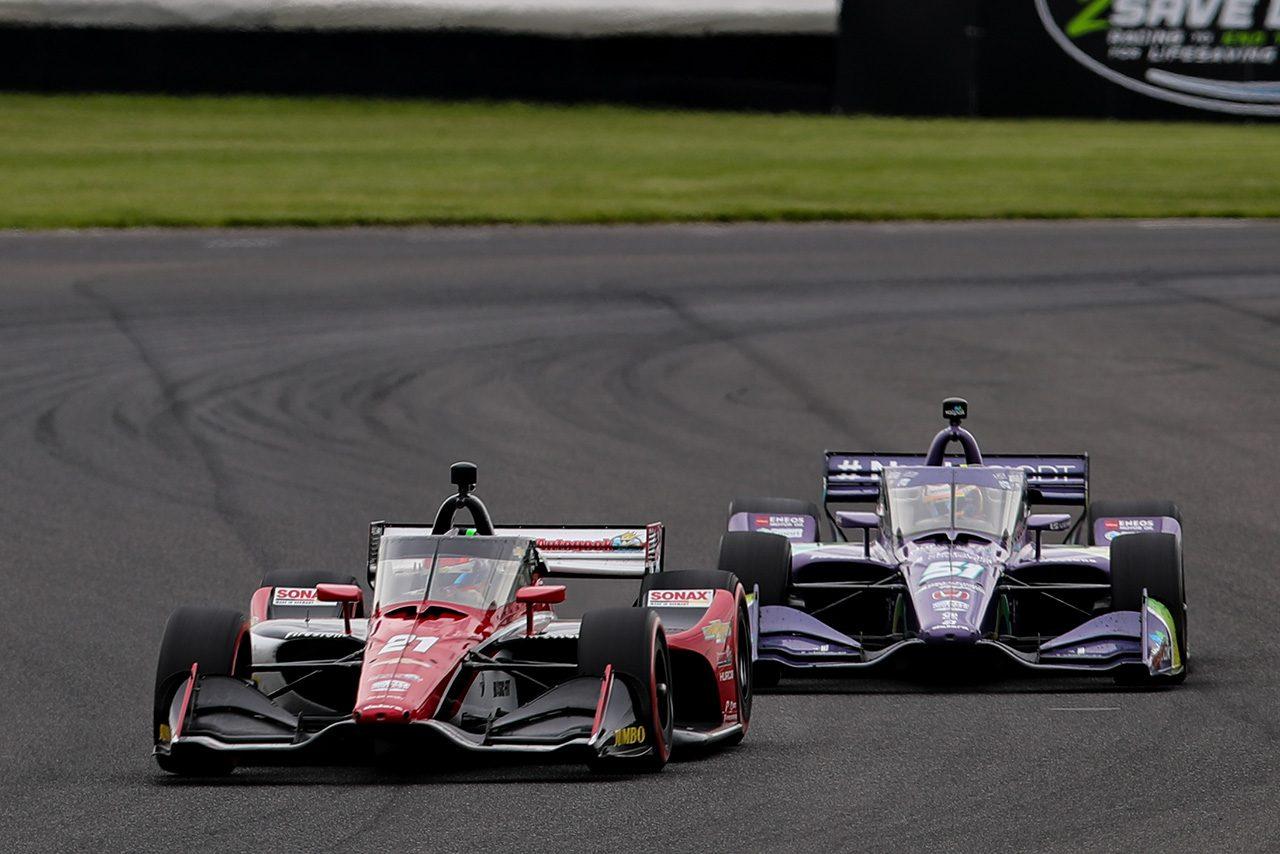 今季3人目のニュースター誕生。ヴィーケイがインディカー第5戦GMRグランプリで初優勝。琢磨は運も味方せず