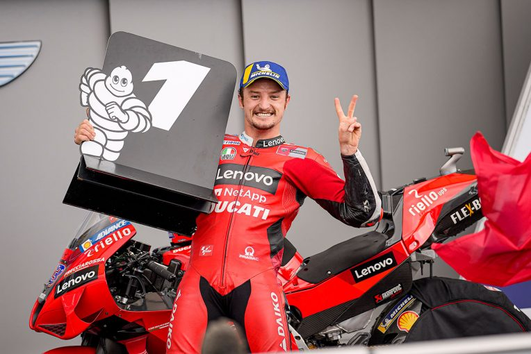 MotoGP | 2連勝を挙げたミラー、科されたペナルティに「『ありえない』と信じられなかった」/MotoGP第5戦決勝トップ3コメント