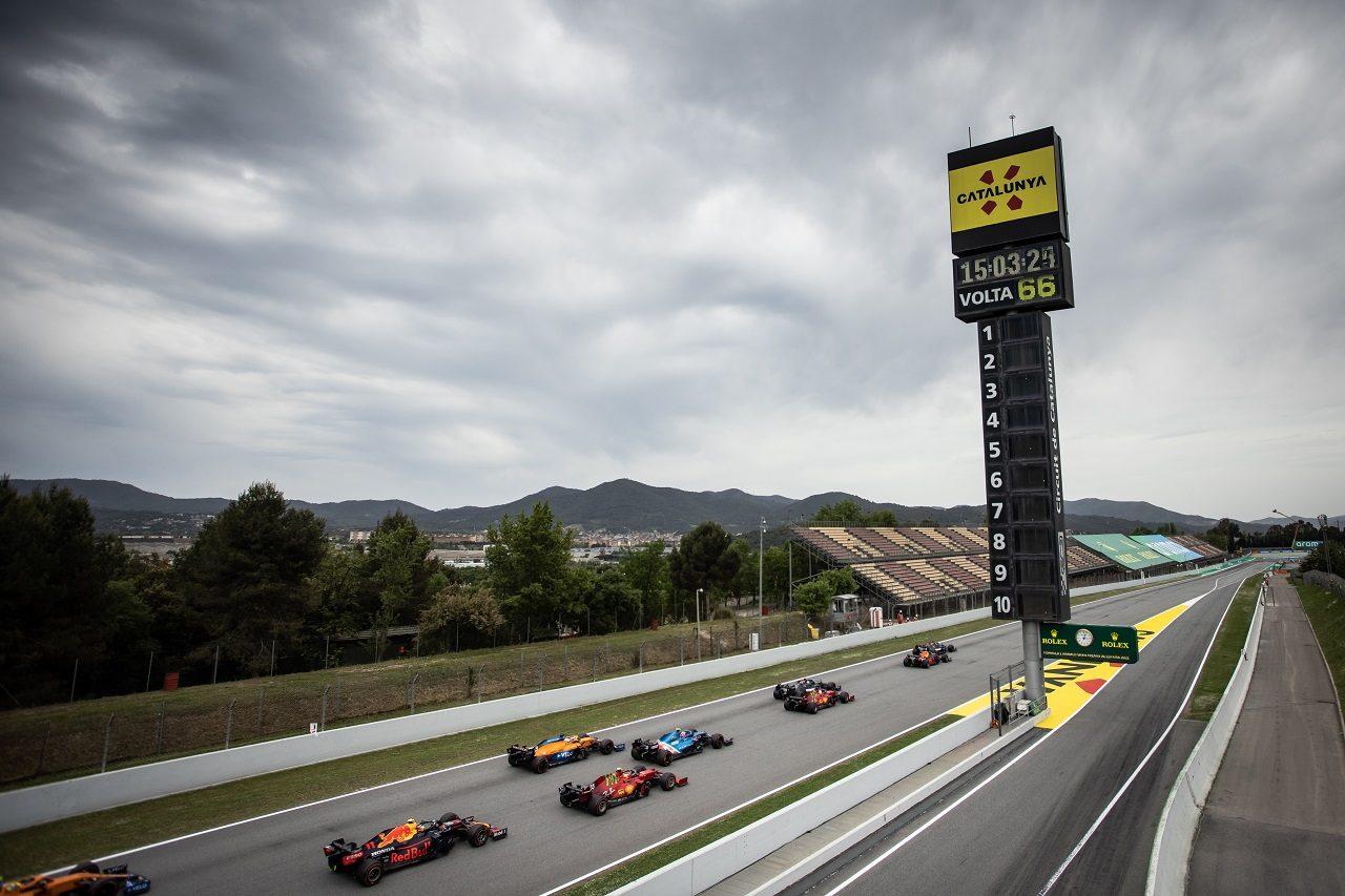 2021年F1スペインGPスタート