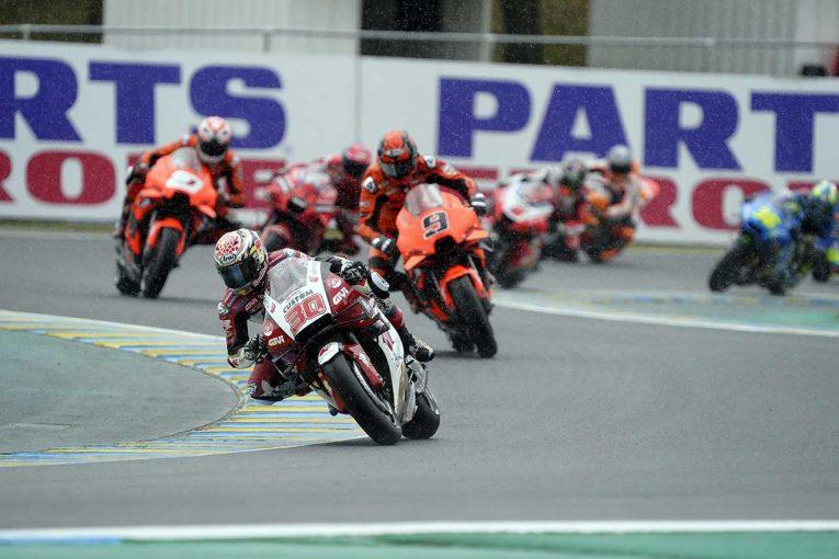 MotoGP   中上貴晶「初めてフラッグ・トゥ・フラッグを経験。とても難しいレースでした」/MotoGP第5戦フランスGP決勝