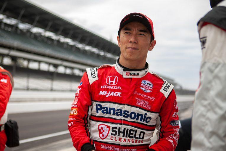 海外レース他   佐藤琢磨が取材会で3度目のインディ500制覇を誓う「絶対的な速度を上げるべく予選からアプローチを変えていく」