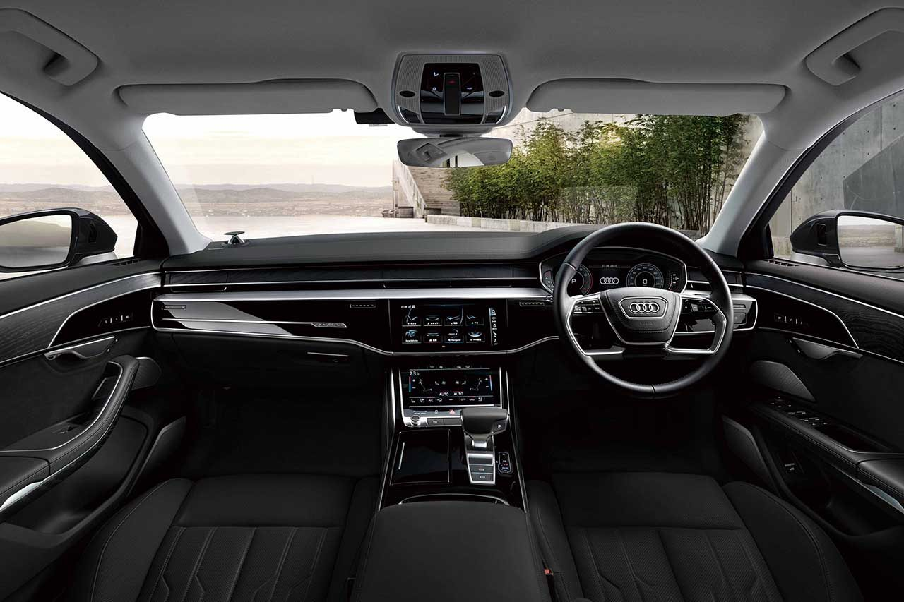 """アウディA8にスポーティな特別仕様車""""グランドツーリング・リミテッド""""登場。限定50台"""