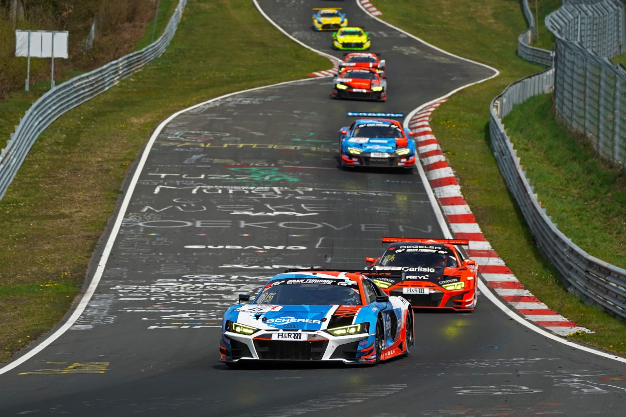 アウディ、ニュルブルクリンク24時間に参戦する3チームのドライバーラインアップを発表