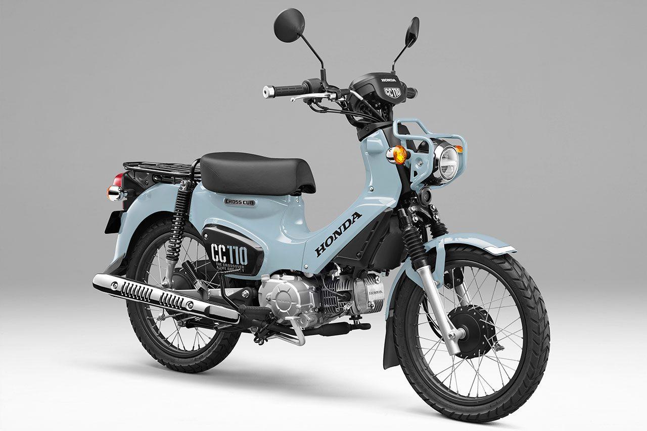 ホンダ、クロスカブ110に新色のプコブルーを採用し2000台限定で発売