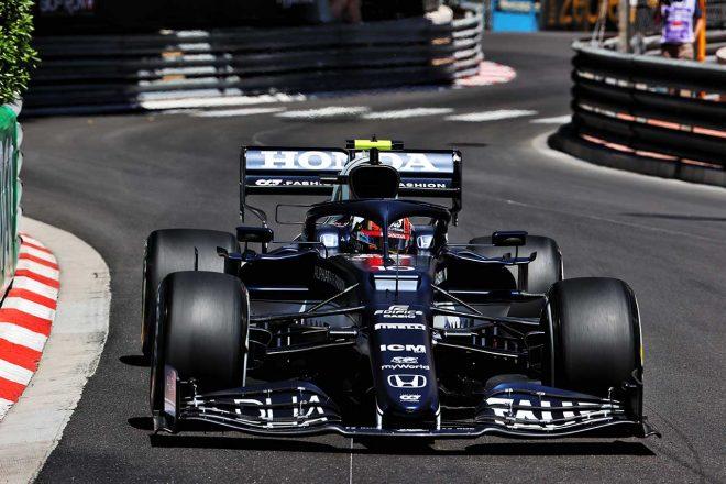 2021年F1第5戦モナコGP ピエール・ガスリー(アルファタウリ・ホンダ)