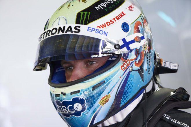 2021年F1第5戦モナコGP バルテリ・ボッタス(メルセデス)