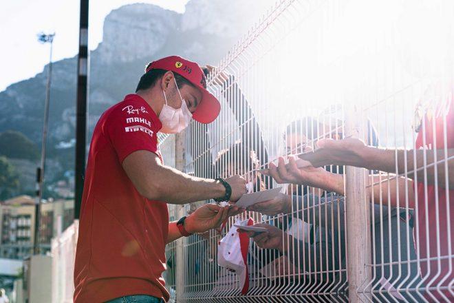 2021年F1第5戦モナコGP シャルル・ルクレール(フェラーリ)