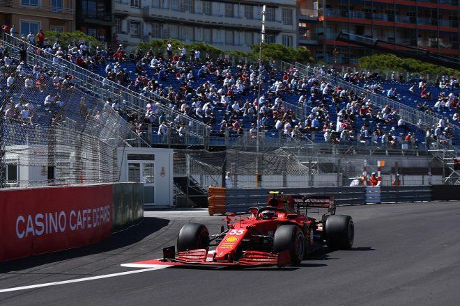 2021年F1第5戦モナコGP カルロス・サインツJr.(フェラーリ)