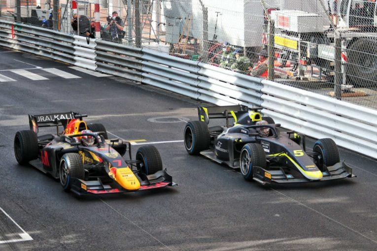 海外レース他 | 【追記】ローソンが規定違反で失格に。ティクトゥムが繰り上がりで優勝。佐藤万璃音はリタイア【FIA-F2第2戦モナコ レース2】