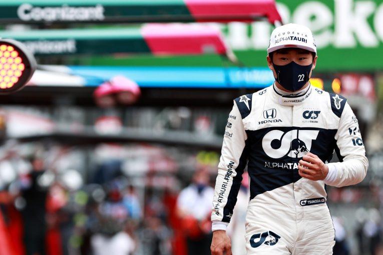 F1   角田裕毅、初のバクーへ「正しい方向に進んでいる。モナコの経験を生かしていいレースをしたい」F1第6戦プレビュー