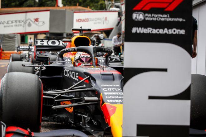 2021年F1第5戦モナコGP マックス・フェルスタッペン(レッドブル・ホンダ)が予選2番手