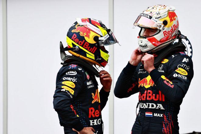 2021年F1第5戦モナコGP セルジオ・ペレス&マックス・フェルスタッペン(レッドブル・ホンダ)
