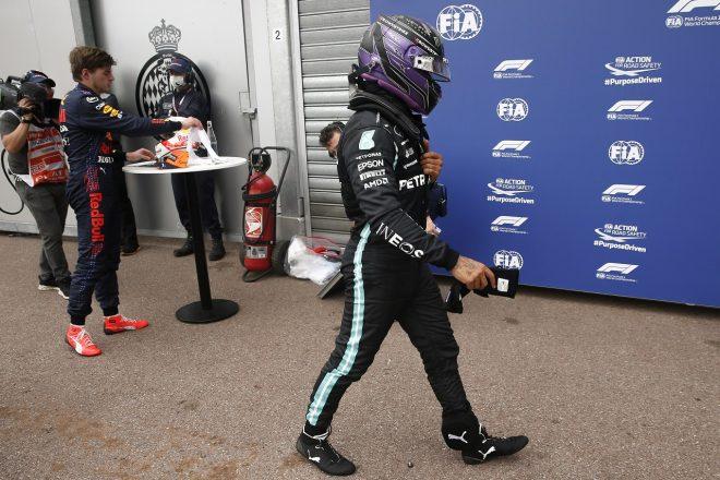 2021年F1第5戦モナコGP ルイス・ハミルトン(メルセデス)