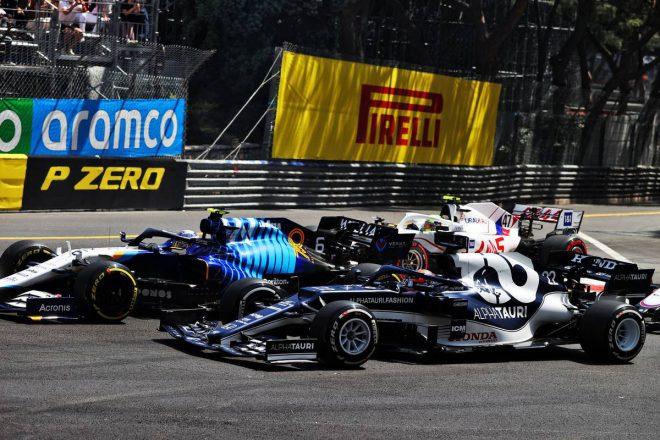 2021年F1第5戦モナコGP スタートシーン