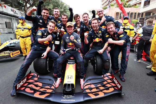 2021年F1第5戦モナコGP マックス・フェルスタッペン(レッドブル・ホンダ)が優勝