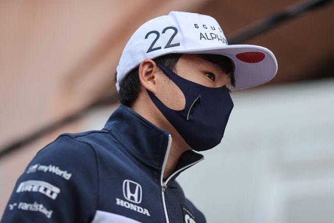 2021年F1第5戦モナコGP 角田裕毅(アルファタウリ・ホンダ)