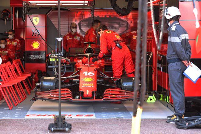 2021年F1第5戦モナコGP フェラーリ、シャルル・ルクレールのリタイアを決定
