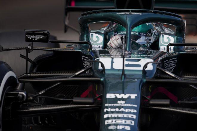 2021年F1第5戦モナコGP ランス・ストロール(アストンマーティン)