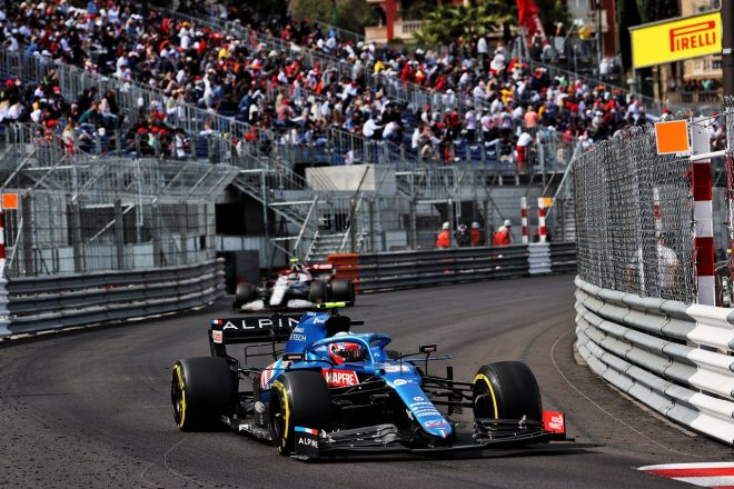 2021年F1第5戦モナコGP エステバン・オコン(アルピーヌ)
