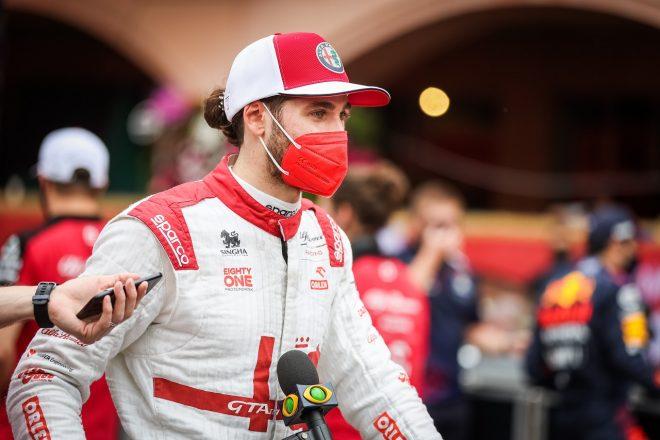 2021年F1第5戦モナコGP アントニオ・ジョビナッツィ(アルファロメオ)