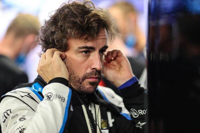 F1   アロンソ「期待外れの週末。レース内容には満足だが、バクーに向けて改善が必要」:アルピーヌ F1第5戦決勝