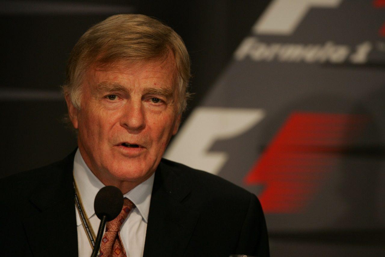 FIA会長を務めたマックス・モズレー(2005年)