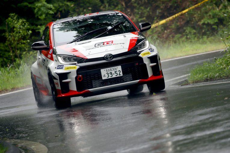 ラリー/WRC   GRヤリスGR4ラリー、全日本ラリー第5戦で初表彰台。勝田範彦が2位フィニッシュ