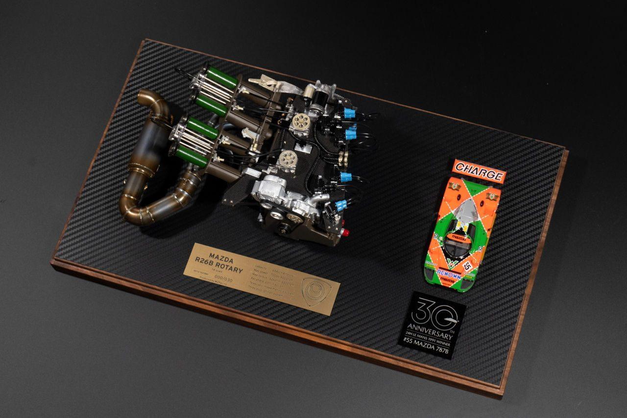 """マツダ787Bの心臓部、名機『R26B』1/6スケール""""ル・マン優勝30周年記念モデル""""発売"""