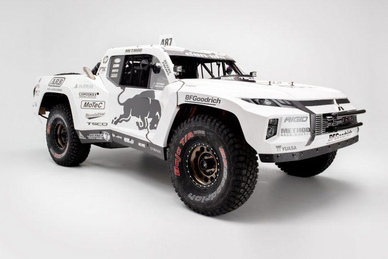 ラリー/WRC | ダカール2度優勝のトビー・プライスが『ミツビシ・トライトン・トロフィートラック』を発表