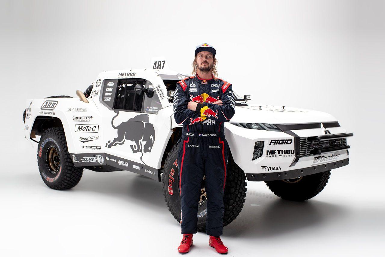 ダカール2度優勝のトビー・プライスが『ミツビシ・トライトン トロフィートラック』を発表