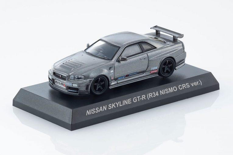 インフォメーション | 京商ミニカー&ブックス第5弾『ニッサン・スカイラインGT-R R34ニスモCRS ver.』6月1日発売