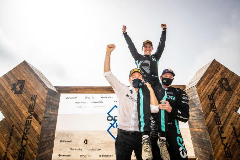 ラリー/WRC | エクストリームE第2戦は宿敵ハミルトンのX44を下し、ロズベルグのRXRが開幕2連勝を達成