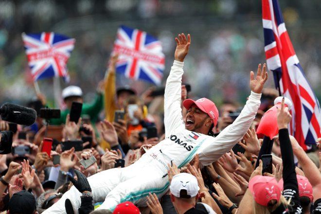 2019年F1イギリスGP ルイス・ハミルトン(メルセデス)
