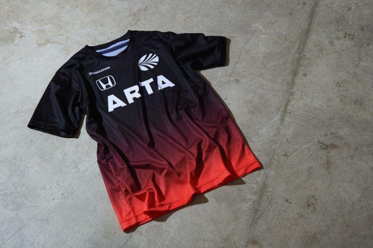 インフォメーション   ARTA、NSX-GTを彷彿させるグラデーションTシャツ最新モデルを発表。6月1日発売